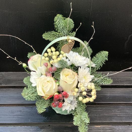Холодное сердце: букеты цветов на заказ Flowwow