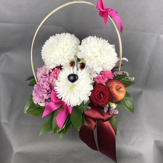Добрый друг: букеты цветов на заказ Flowwow