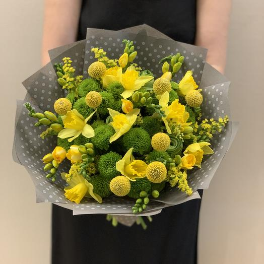 Букет «Лучики Солнца»: букеты цветов на заказ Flowwow