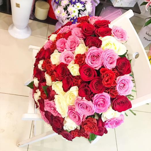 51 Роза премиум