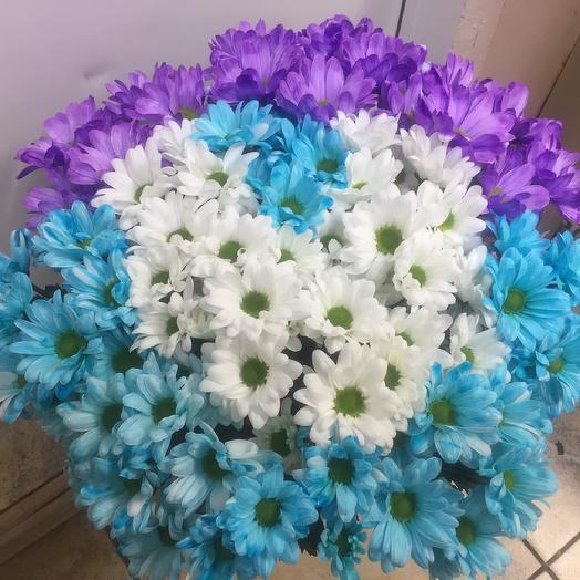 Букет «Хризантема микс»