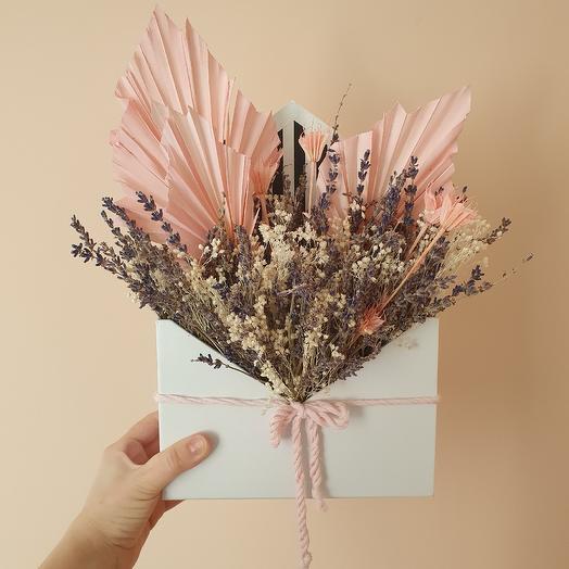 Конверт Бисквит: букеты цветов на заказ Flowwow
