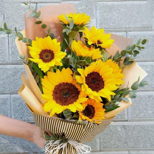 """Букет """"Моё Солнышко"""": букеты цветов на заказ Flowwow"""