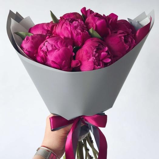 Пионы Рэд Сара Бкрнар: букеты цветов на заказ Flowwow