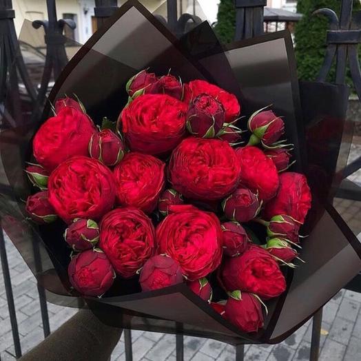 Розы красные «Ред пиано»: букеты цветов на заказ Flowwow