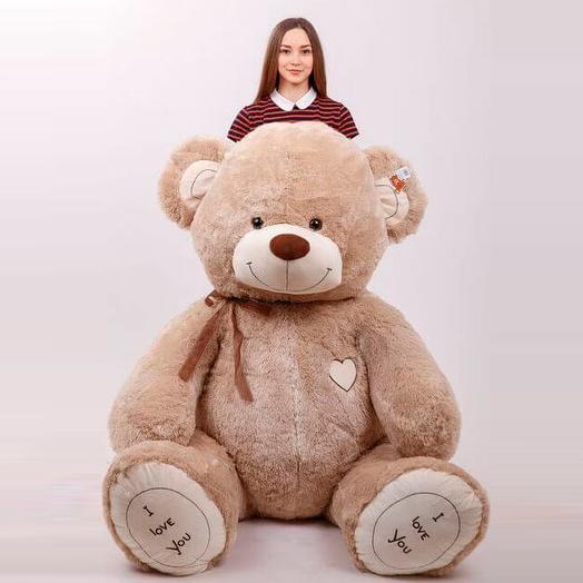 Большой Медведь Ричард 220 см (кофейный)