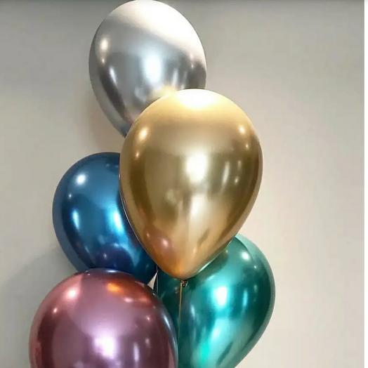 Хром набор из 5 шаров