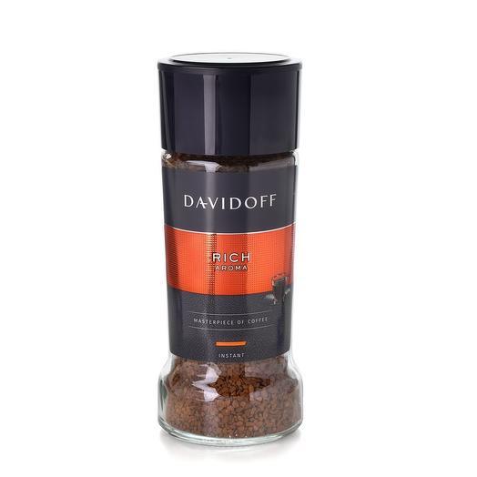 Кофе Davidoff Cafe Rich Aroma растворимый сублимированный 100 гр