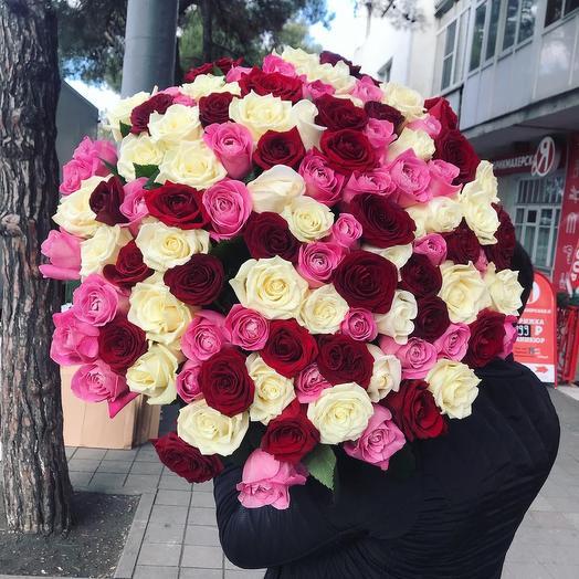 101 Роза микс