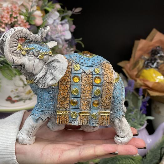 Слон 15см керамика