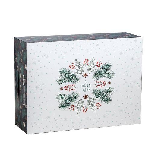 Коробка складная «С новым годом!»