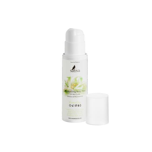 Крем-флюид 12 для тела увлажняющий, Sativa