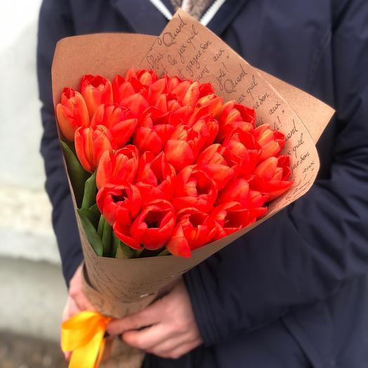 Букет Тюльпаны Радужные