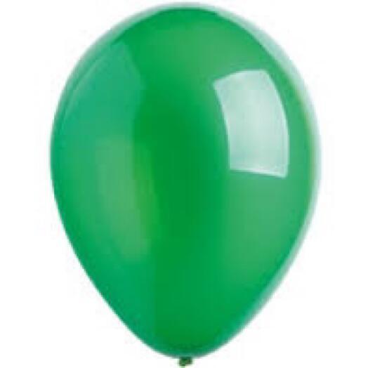 Шар с гелием - зелёный