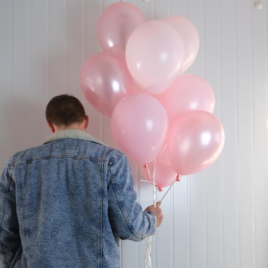 9 воздушных шаров
