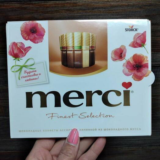 Коробка конфет Мерси