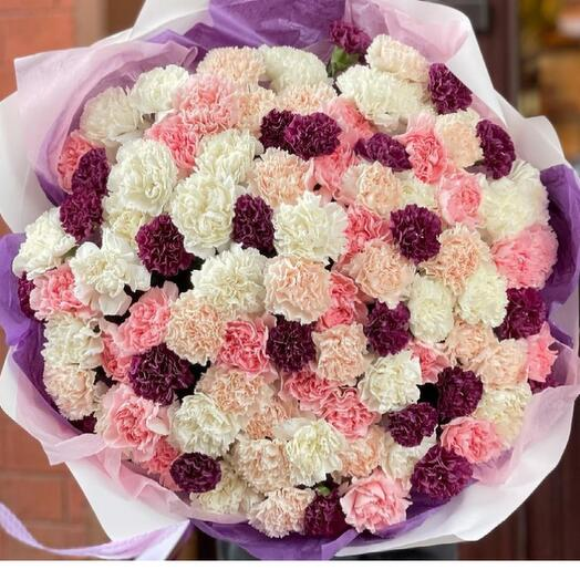 101 carnations large bouquet