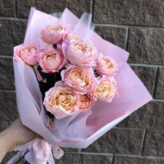 """Букет из кустовых роз """"Джульетта"""""""