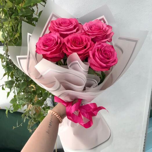 Розы Эквадор в оформлении