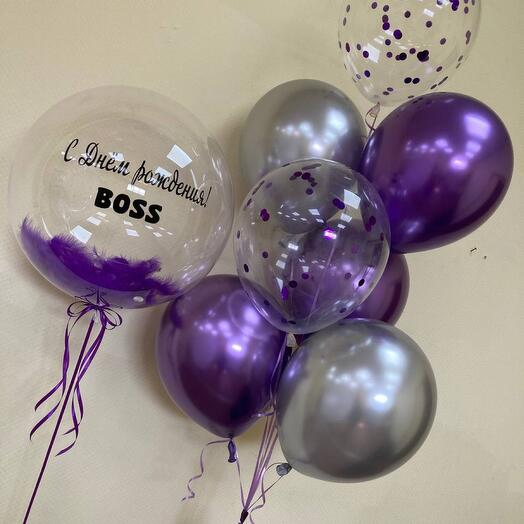 Сет шариков с шариком Bubble