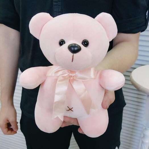 """Мягкая игрушка """"Розовый мишка"""""""
