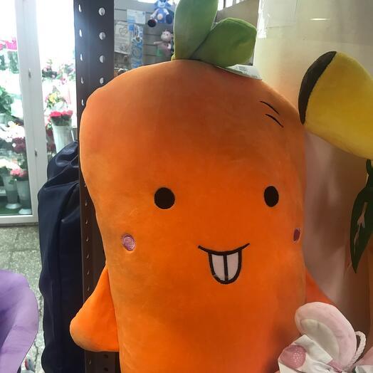 Морковка подушка