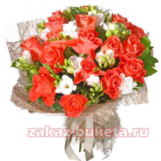 Игра чувств: букеты цветов на заказ Flowwow
