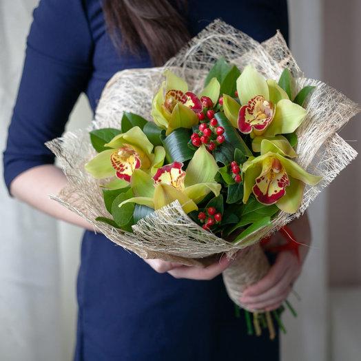 Букет Лесная ягода: букеты цветов на заказ Flowwow