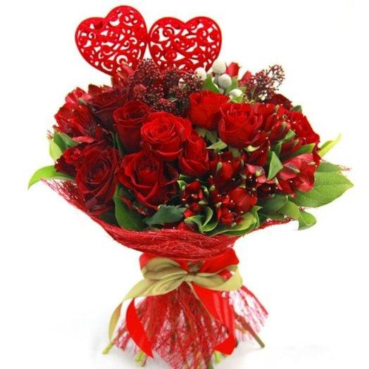 Букет № 62 Амур: букеты цветов на заказ Flowwow