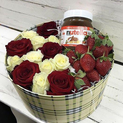 Сладости любимой: букеты цветов на заказ Flowwow