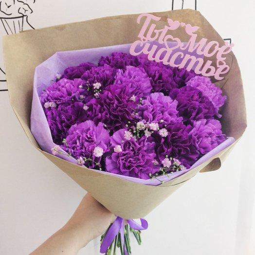 Очаровательные гвоздики: букеты цветов на заказ Flowwow