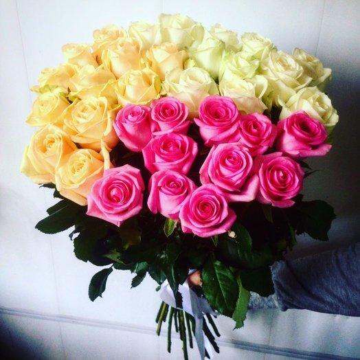 Букет Трио: букеты цветов на заказ Flowwow