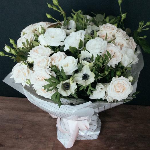 Белоснежное утро: букеты цветов на заказ Flowwow