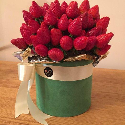 Клубника с фисташками: букеты цветов на заказ Flowwow