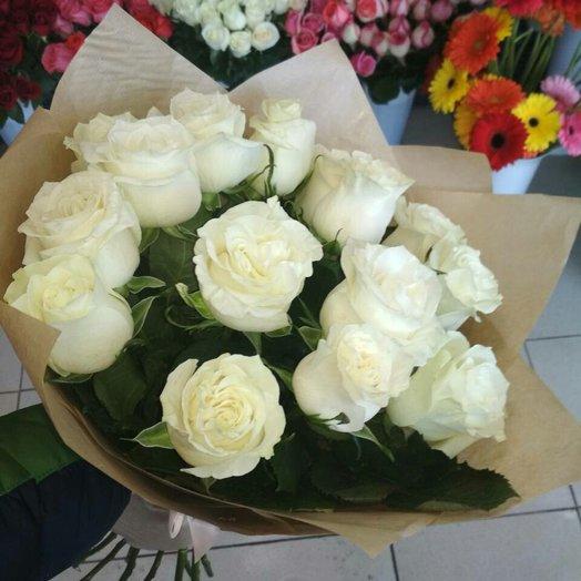 Букет Романтический белый: букеты цветов на заказ Flowwow