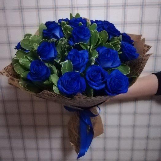 Магия Индиго: букеты цветов на заказ Flowwow