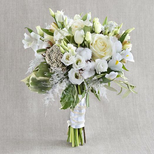 Компактный букет Нежное стихотворение: букеты цветов на заказ Flowwow