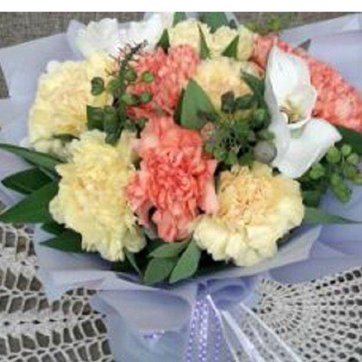 Гвоздичная рапсодия: букеты цветов на заказ Flowwow
