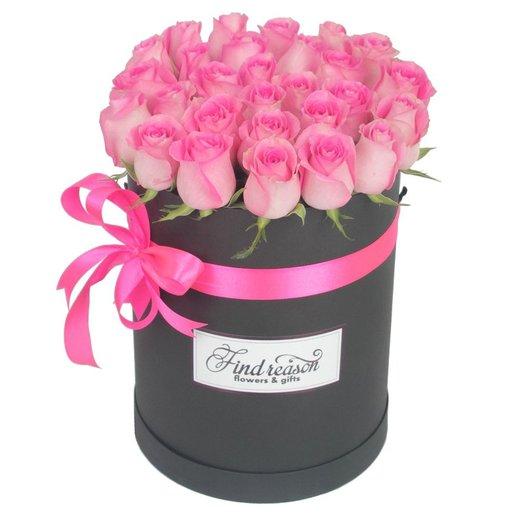 "Шляпная коробка ""Признание"": букеты цветов на заказ Flowwow"