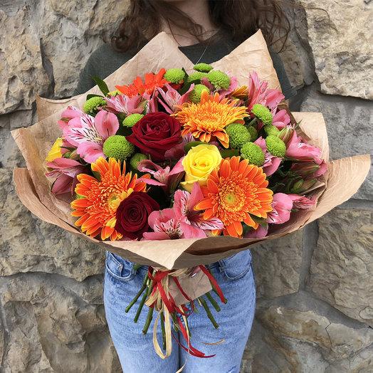 """Букет """"Хорошее настроение: букеты цветов на заказ Flowwow"""
