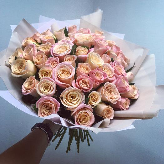 Мисс Грация: букеты цветов на заказ Flowwow