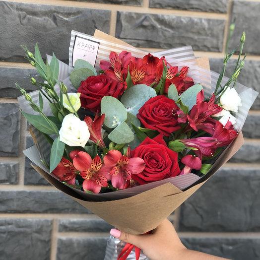 Микс-15: букеты цветов на заказ Flowwow