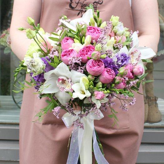 Букет 35: букеты цветов на заказ Flowwow