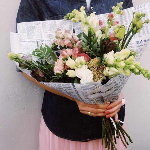 Дачный: букеты цветов на заказ Flowwow