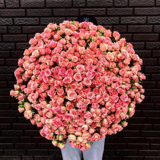 """""""Алая роса"""": букеты цветов на заказ Flowwow"""