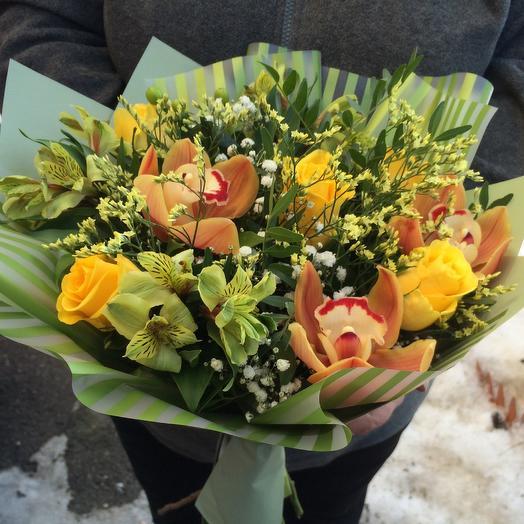 Фисташка: букеты цветов на заказ Flowwow