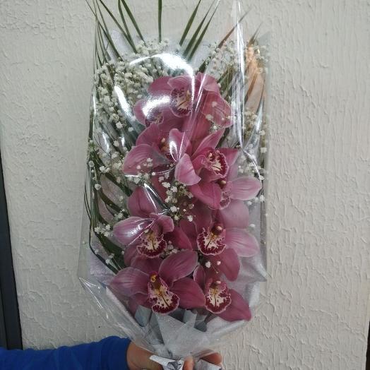 Ветка орхидеи: букеты цветов на заказ Flowwow