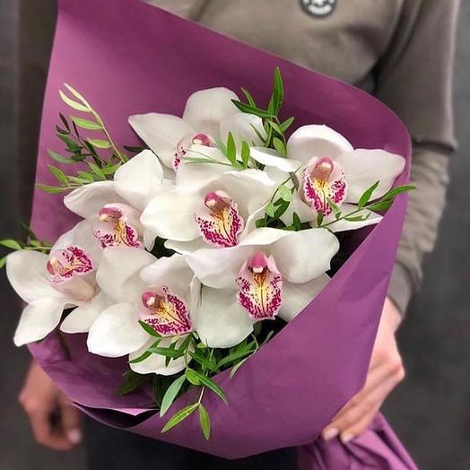 Белые бабочки: букеты цветов на заказ Flowwow
