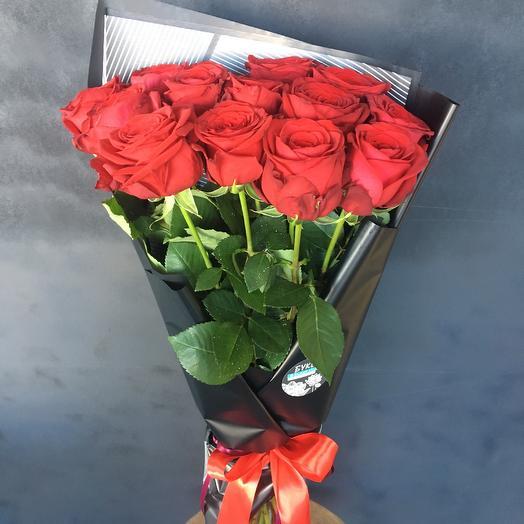 13 роз: букеты цветов на заказ Flowwow