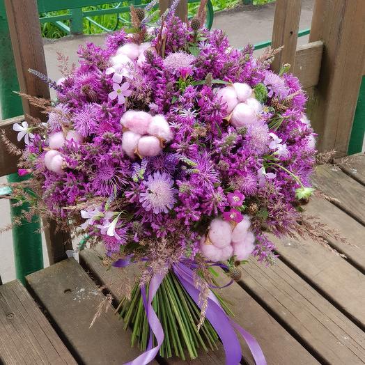Лиловый рассвет: букеты цветов на заказ Flowwow